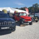 Jeep Grand Cherokee SRT 2016r., Jeep Wrangler Unlimited Rubicon, Willys 1943r., Jeep Wrangler Unlimited - 75th Anniversary Edition